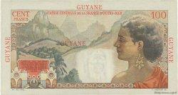 100 Francs La Bourdonnais GUYANE  1946 P.23 SUP