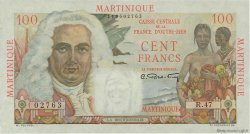 100 Francs La Bourdonnais MARTINIQUE  1946 P.31a pr.SUP