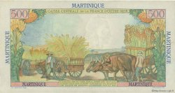 500 Francs Pointe à Pitre MARTINIQUE  1949 P.32 TTB à SUP