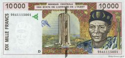 10000 Francs MALI  1998 P.414Dg pr.NEUF