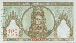 100 Francs TAHITI  1961 P.14ds NEUF