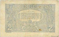 2 Lei ROUMANIE  1915 P.018 TTB