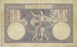 5 Lei ROUMANIE  1928 P.019a TB