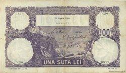 100 Lei ROUMANIE  1913 P.021 TB+