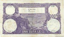 100 Lei ROUMANIE  1914 P.021 TB