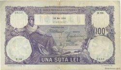 100 Lei ROUMANIE  1916 P.021 TB+