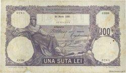 100 Lei ROUMANIE  1920 P.021 TB+