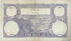 100 Lei ROUMANIE  1920 P.021 TTB