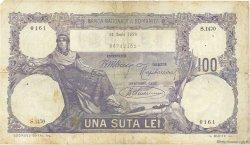 100 Lei ROUMANIE  1920 P.021 TB
