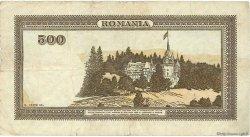 500 Lei ROUMANIE  1943 P.051a TB