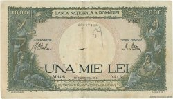 1000 Lei ROUMANIE  1941 P.052 B à TB