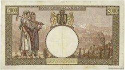 2000 Lei ROUMANIE  1943 P.054a pr.TTB