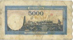 5000 Lei ROUMANIE  1944 P.056a pr.TB