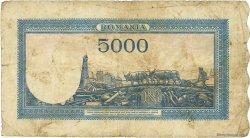 5000 Lei ROUMANIE  1945 P.056a B