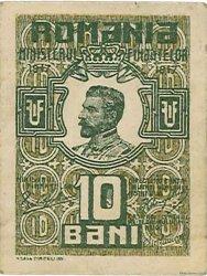 10 Bani ROUMANIE  1917 P.069 SUP