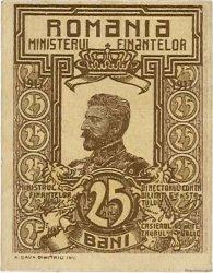 25 Bani ROUMANIE  1917 P.070 pr.NEUF