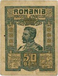 50 Bani ROUMANIE  1917 P.071 TTB