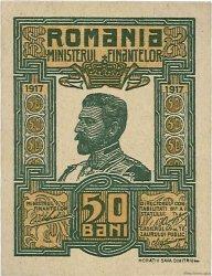 50 Bani ROUMANIE  1917 P.071 SPL