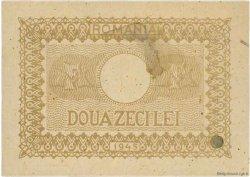 20 Lei ROUMANIE  1945 P.076 SUP