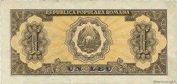 1 Leu ROUMANIE  1952 P.081b SUP