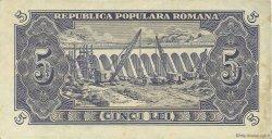 5 Lei ROUMANIE  1952 P.083b TTB