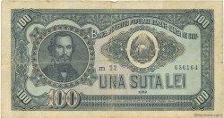 100 Lei ROUMANIE  1952 P.090b pr.TB