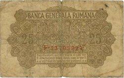 25 Bani ROUMANIE  1917 P.M01 B