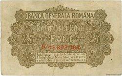 25 Bani ROUMANIE  1917 P.M01 TB+