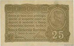 25 Bani ROUMANIE  1917 P.M01 SUP