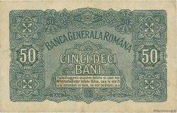 50 Bani ROUMANIE  1917 P.M02 TTB