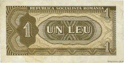 1 Leu ROUMANIE  1966 P.091a TTB