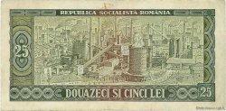25 Lei ROUMANIE  1966 P.095a TB