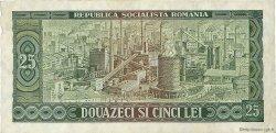 25 Lei ROUMANIE  1966 P.095a TTB