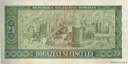 25 Lei ROUMANIE  1966 P.095a SUP