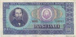 100 Lei ROUMANIE  1966 P.097a TB