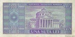 100 Lei ROUMANIE  1966 P.097a TTB+