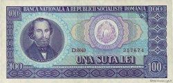 100 Lei ROUMANIE  1966 P.097a pr.SPL