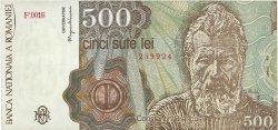 500 Lei ROUMANIE  1991 P.098b TTB+