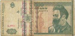 500 Lei ROUMANIE  1992 P.101a pr.TB