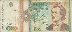 1000 Lei ROUMANIE  1991 P.101A pr.TB