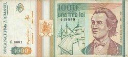 1000 Lei ROUMANIE  1993 P.102 TB
