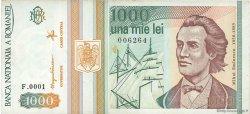1000 Lei ROUMANIE  1993 P.102 TTB