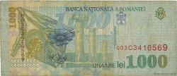 1000 Lei ROUMANIE  1998 P.106 TB