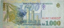1000 Lei ROUMANIE  1998 P.106 TTB