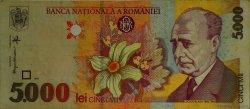 5000 Lei ROUMANIE  1998 P.107 TTB