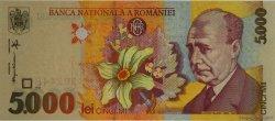 5000 Lei ROUMANIE  1998 P.107 NEUF
