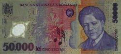 50000 Lei ROUMANIE  2001 P.113a TTB+