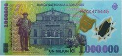 1000000 Lei ROUMANIE  2003 P.116a pr.NEUF