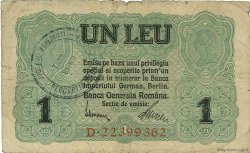 1 Leu ROUMANIE  1917 P.M03 TB