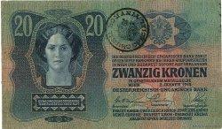 20 Kronen ROUMANIE  1919 P.R05 TB+